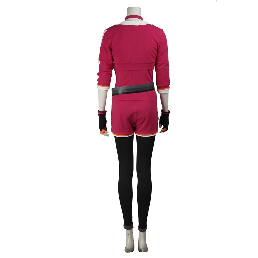 Pokemon Go Female Red Trainer Team Cosplay Costume