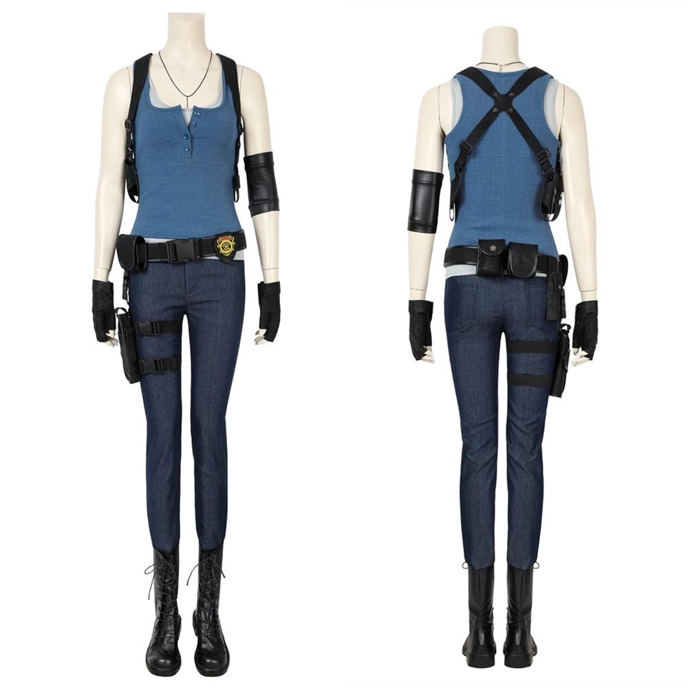 Resident Evil 3 Remake Jill Valentine Cosplay Costume