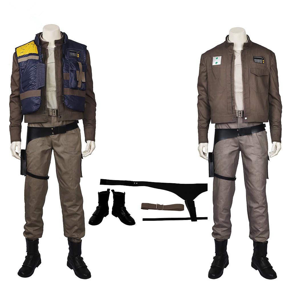 Rogue One: A Star Wars Story Cassian Andor Cosplay Costumes