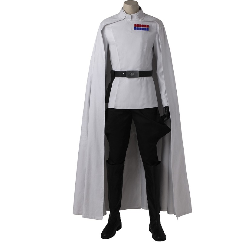 Rogue One A Star Wars Story Orson Krennic Cosplay Costume