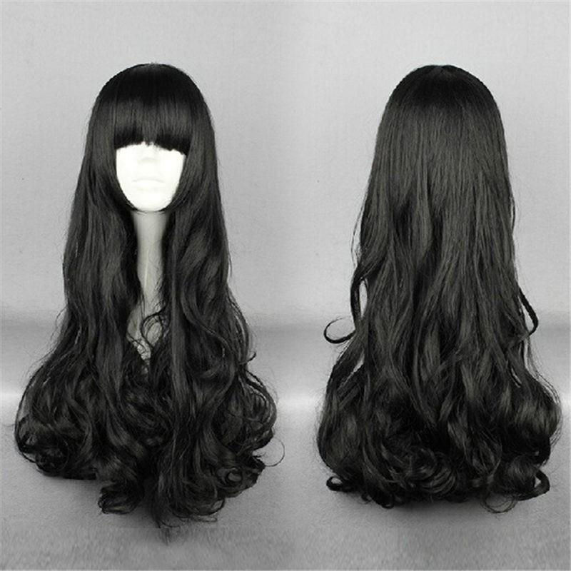 RWBY Black Trailer Blake Belladonna Long Hair Cosplay Wigs