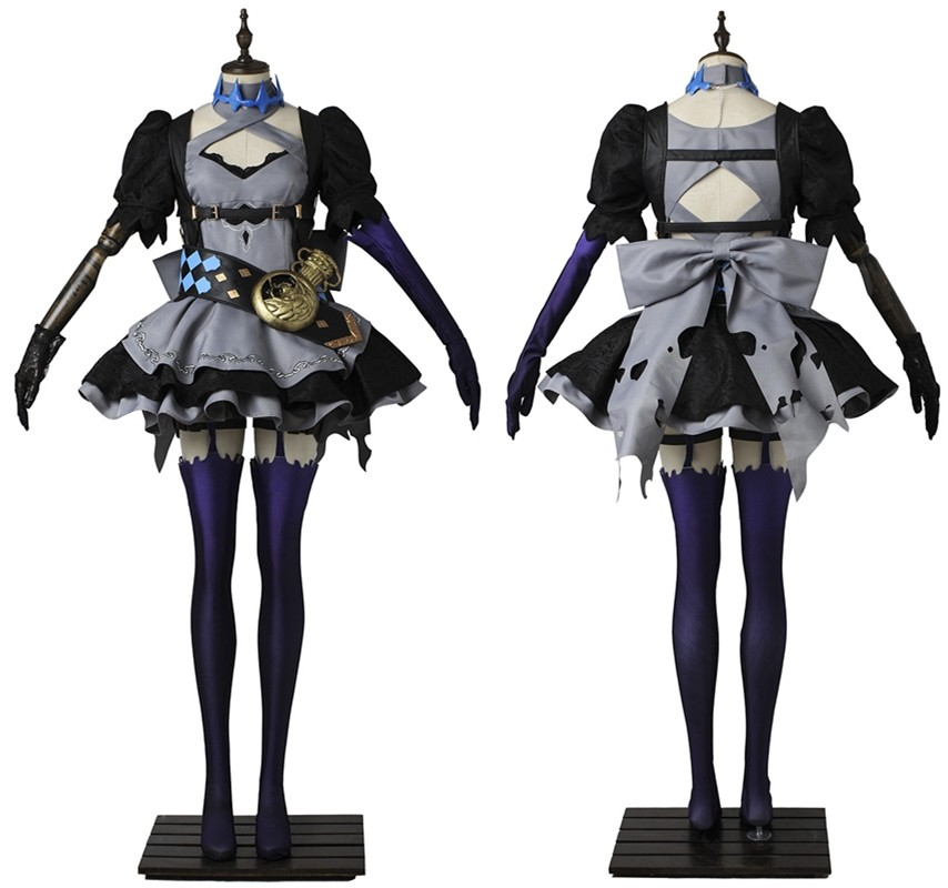 SINoALICE Fetter Alice Cosplay Costume Fancy Dress