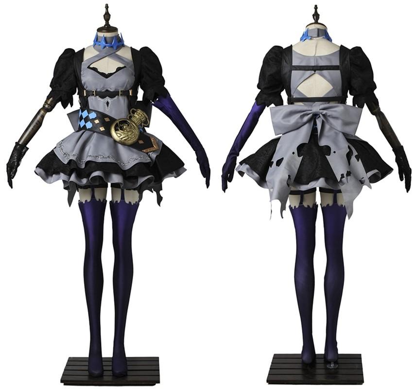 SINoALICE Fetter Alice Cosplay Costume Fancy Dress