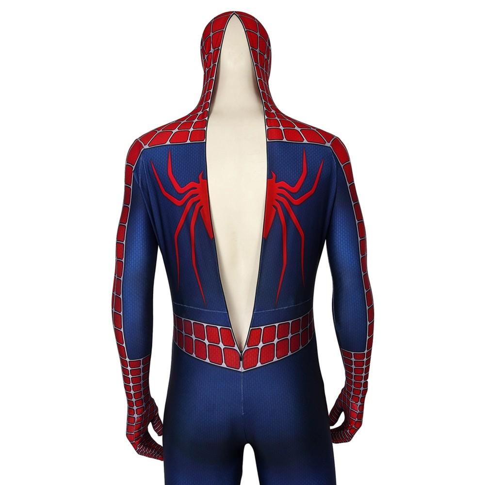 Spider-Man 2 Spiderman 3D Zentai Jumpsuit