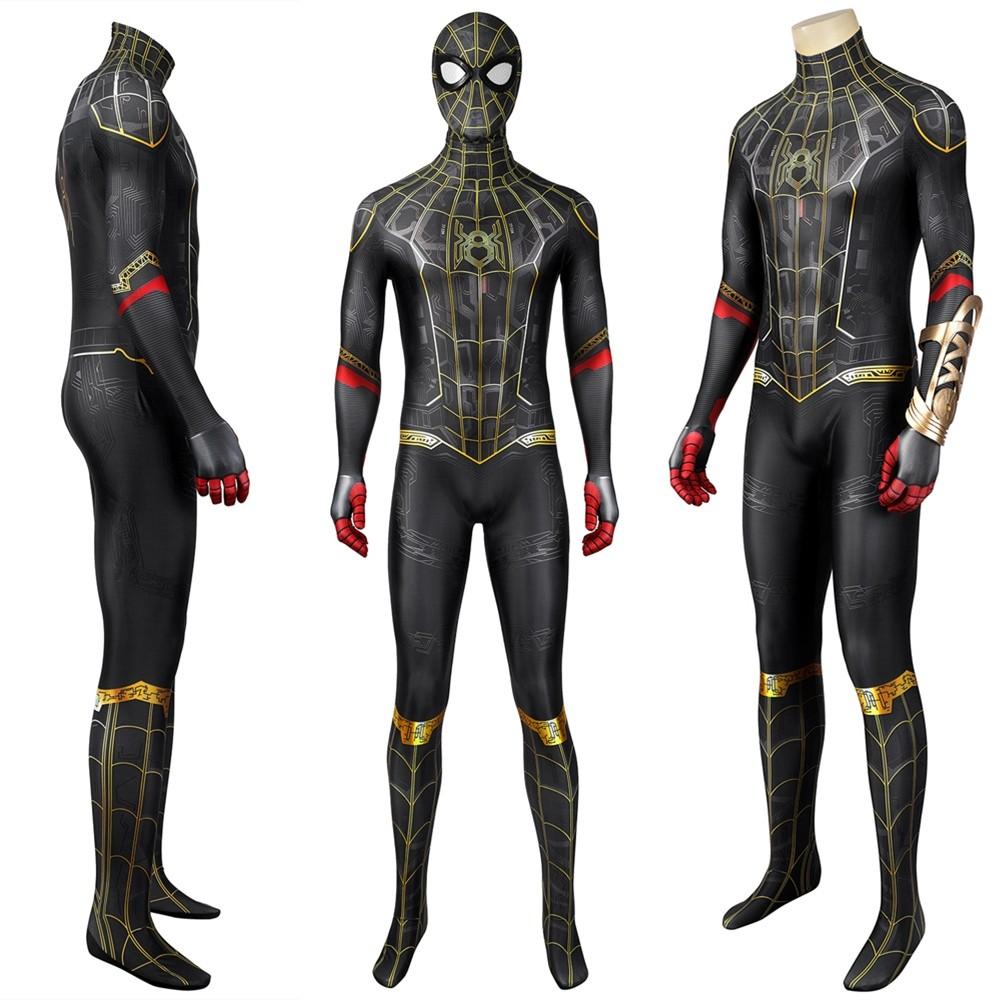 Spider-Man 3 No Way Home Peter Parker 3D Cosplay Jumpsuit