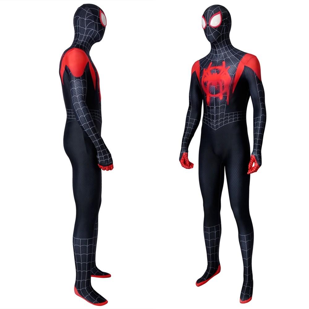 Spider-Man Into the Spider-Verse Miles Morales 3D Jumpsuit Zentai