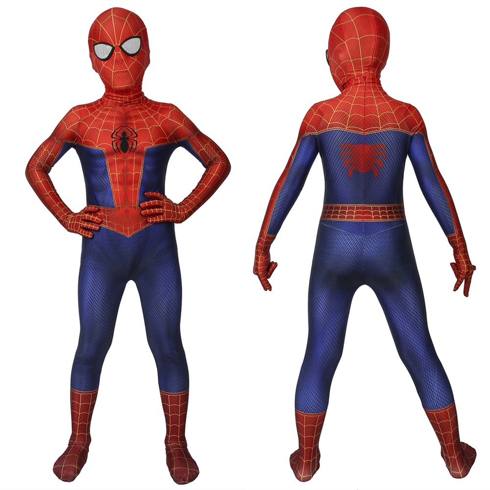 Spider-Man: Into the Spider-Verse Peter Parker Kids 3D Zentai