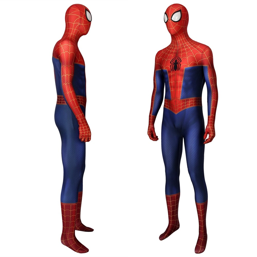 Spider-Man Into The Spider-Verse Spiderman 3D Zentai Jumpsuit
