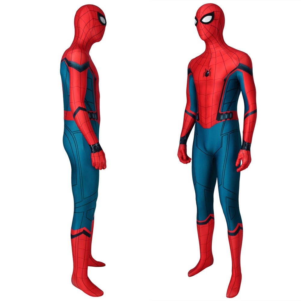 Spider-Man Peter Parker 3D Zentai Jumpsuit