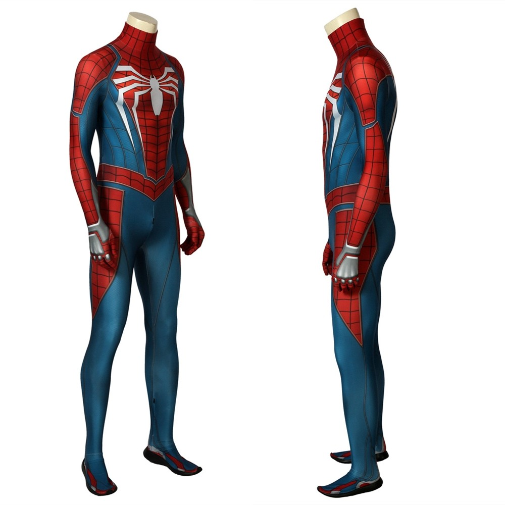Spider-Man PS4 Spider-Man 3D Zentai Jumpsuit