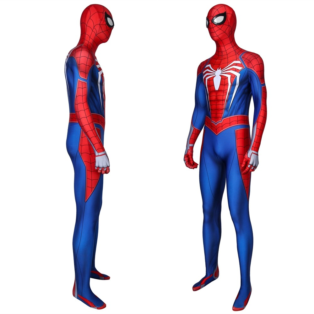 Spider-Man PS4 Spiderman 3D Zentai Jumpsuit