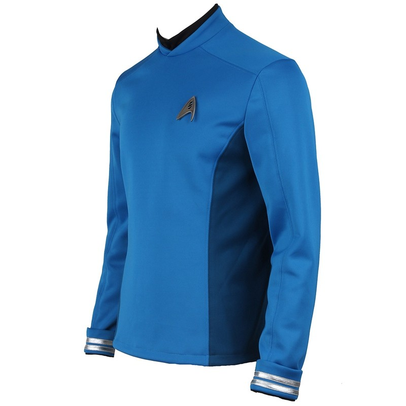 Star Trek Beyond Leonard H. McCoy Bones Spock Blue Uniform Cosplay Costume
