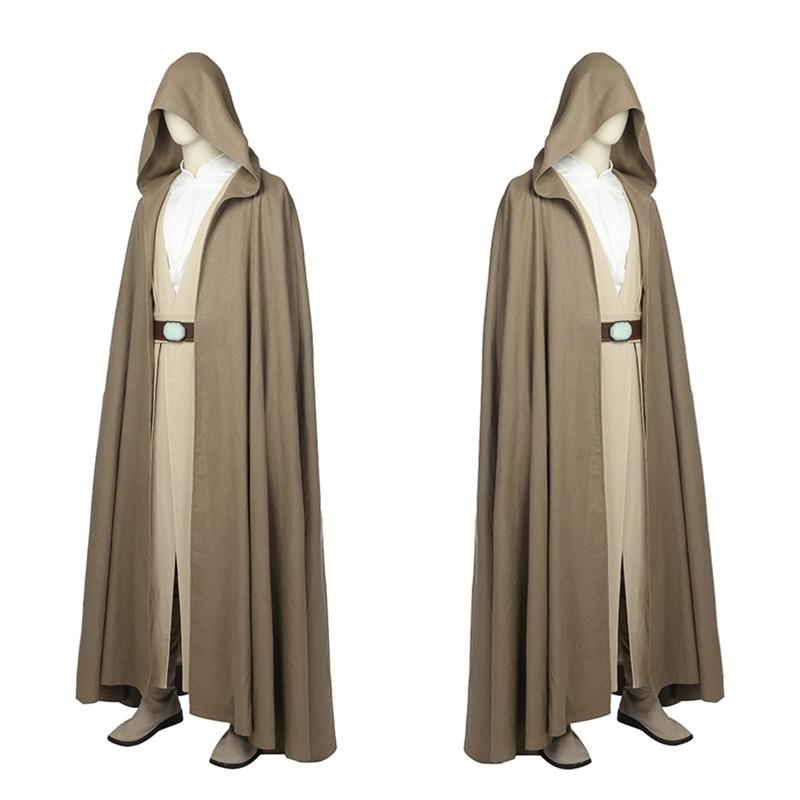 Star Wars 8 The Last Jedi Luke Cosplay Costume Skywalker Costume