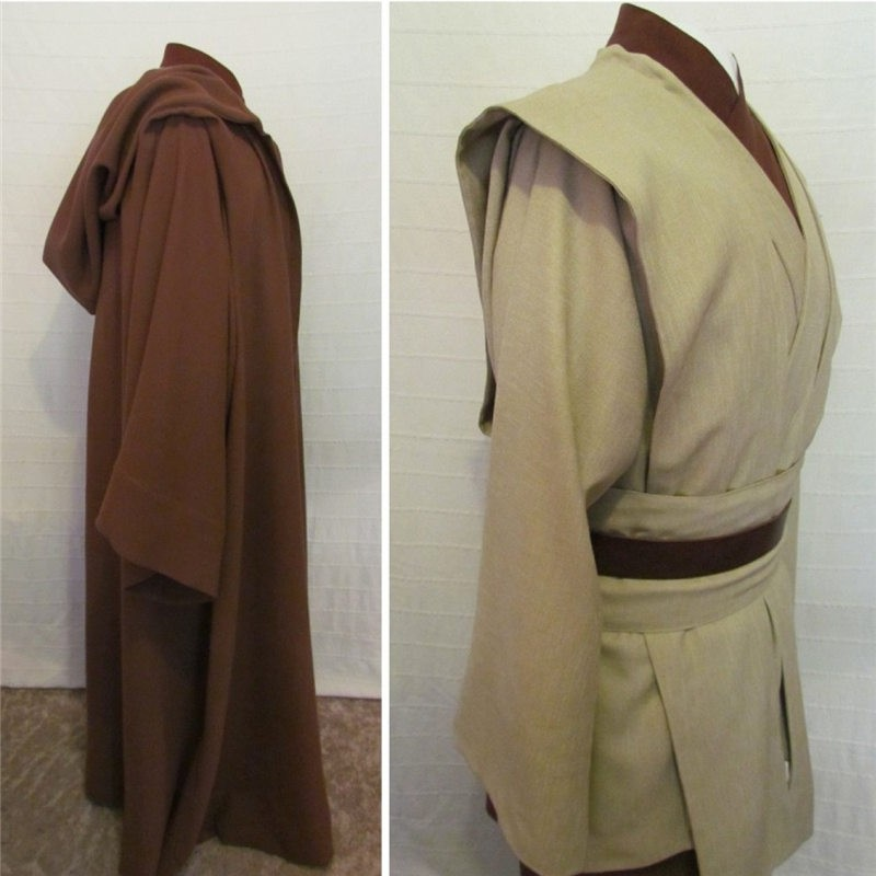 Star Wars Obi-Wan Jedi Master Deluxe Cosplay Costumes