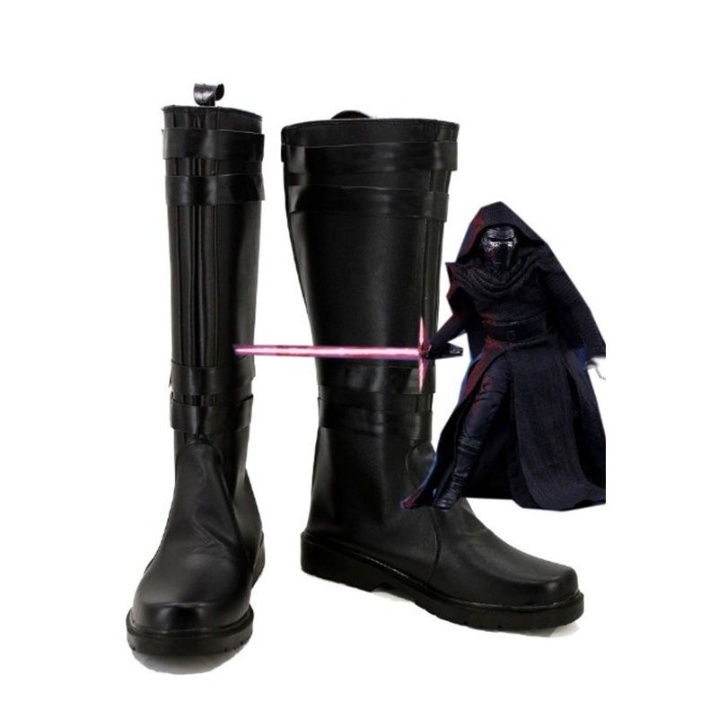 Star Wars The Force Awakens Kylo Ren Ben Solo Cosplay Boots