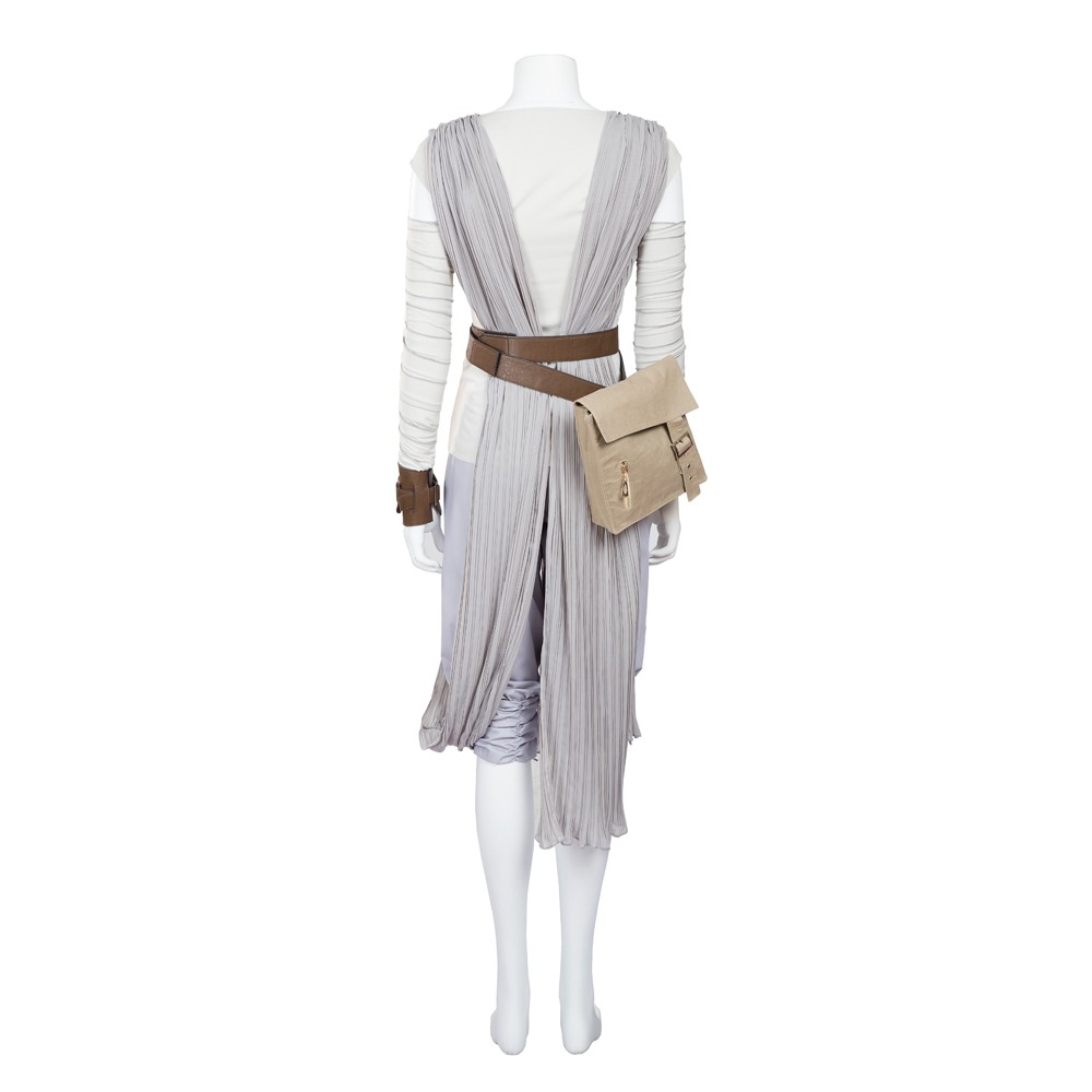 Star Wars The Force Awakens Rey Cosplay Costume Deluxe