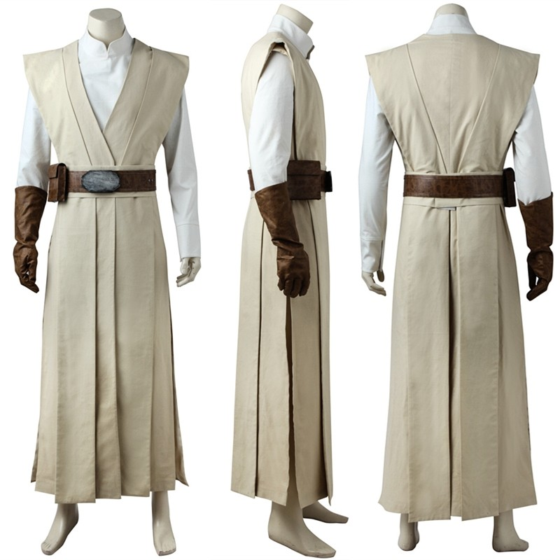 Star Wars The Last Jedi Luke Skywalker Cosplay Costume