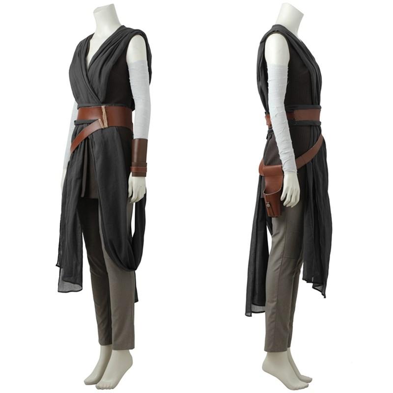 Star Wars The Last Jedi Rey Cosplay Costume