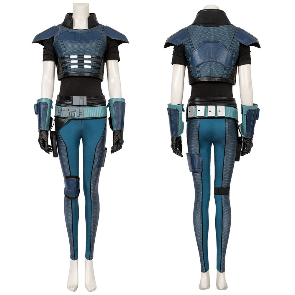 Star Wars The Mandalorian Cara Dune Cosplay Costume