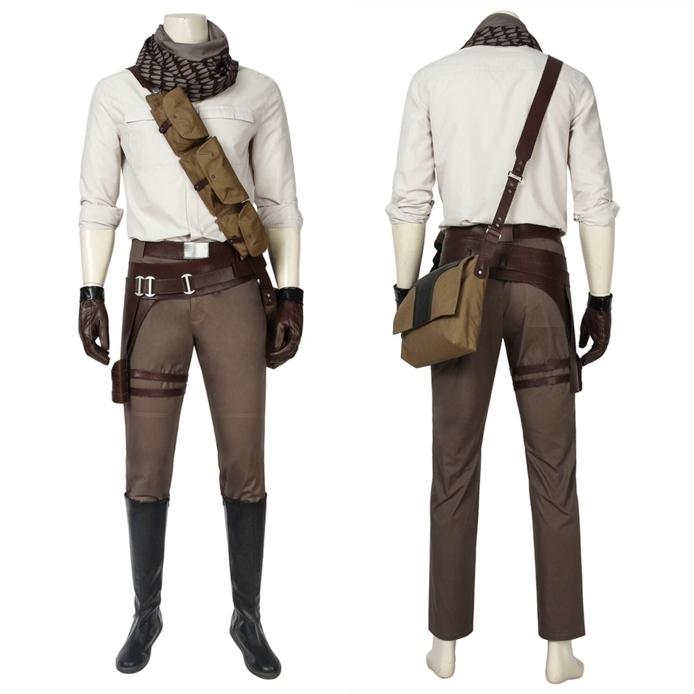 Star Wars The Rise of Skywalker Poe Dameron Cosplay Costume