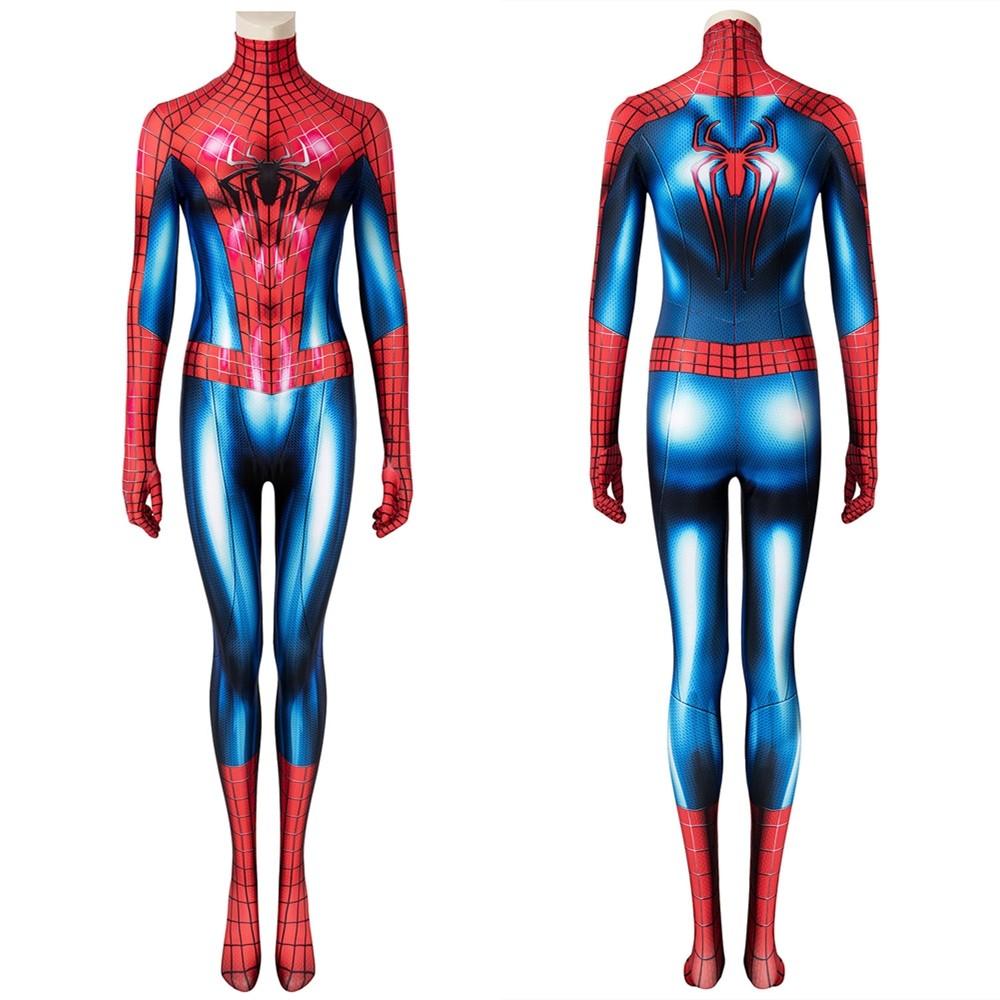 The Amazing Spider-Man 2 Peter Parker Female 3D Jumpsuit