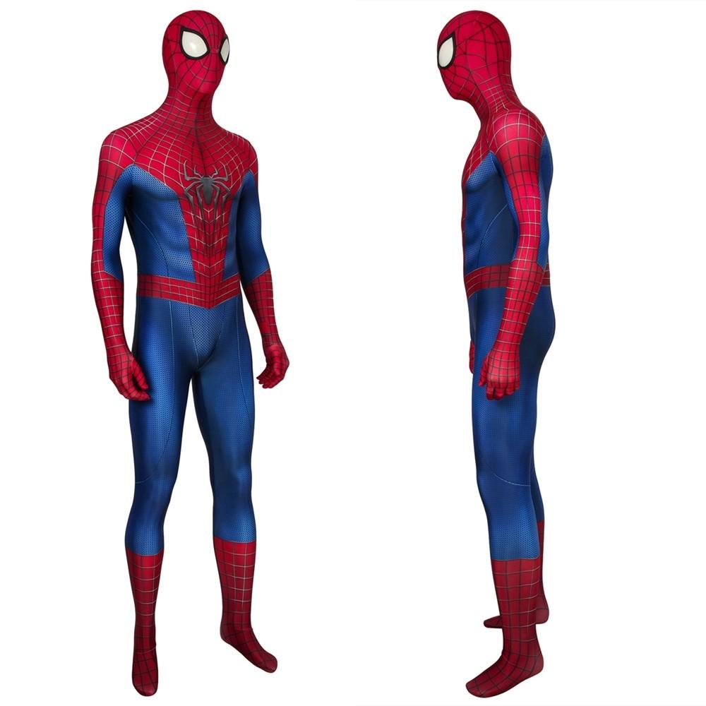 The Amazing Spider-Man Peter Parker 3D Zentai Jumpsuit