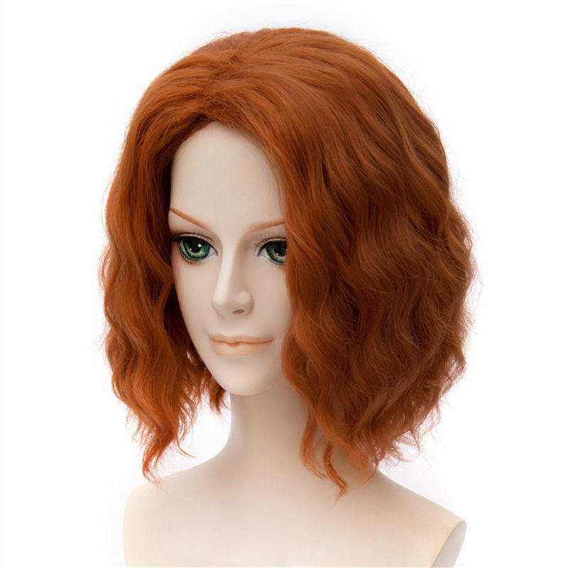 The Avengers Age of Ultron Black Widow Cosplay Wigs