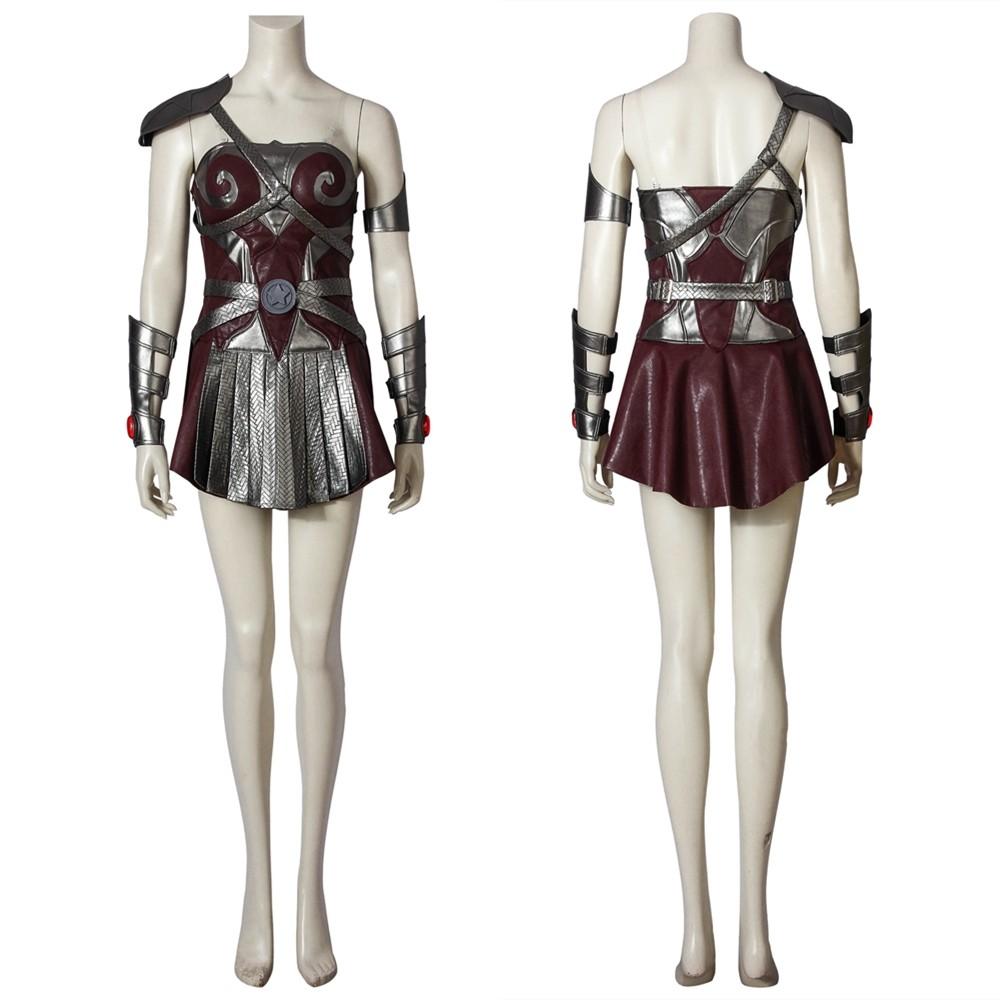 The Boys Season 1 Queen Maeve Cosplay Costume