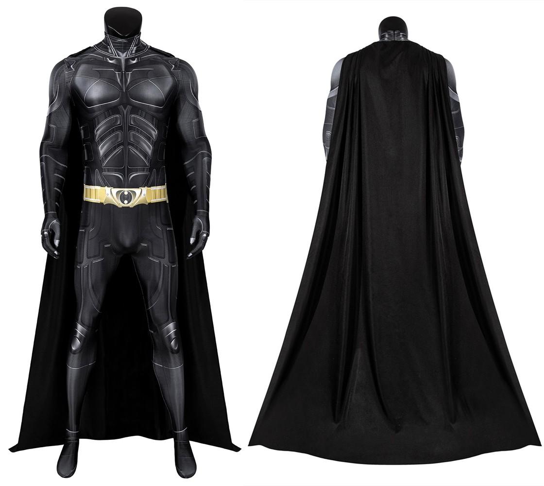 The Dark Knight Rises Bruce Wayne Batman 3D Jumpsuit