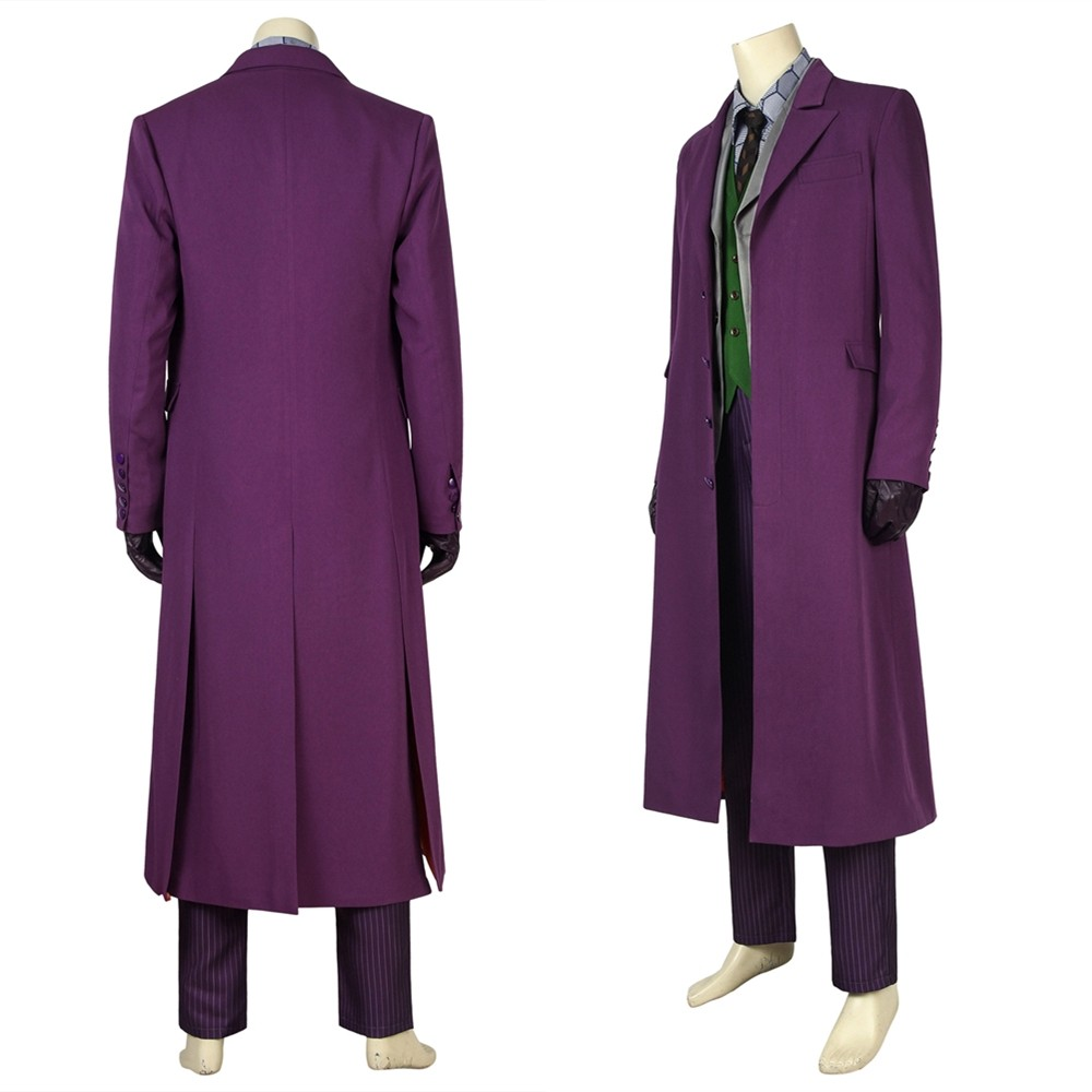 The Dark Knight The Joker Cosplay Costume
