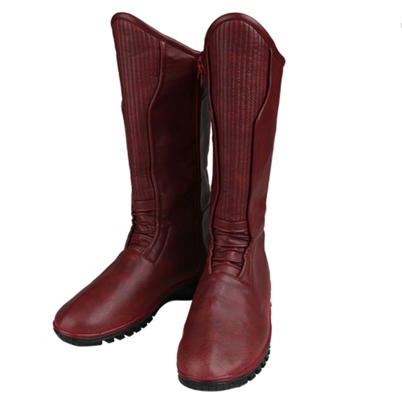 The Flash Kid Flash Wally West Cosplay Shoes Boots