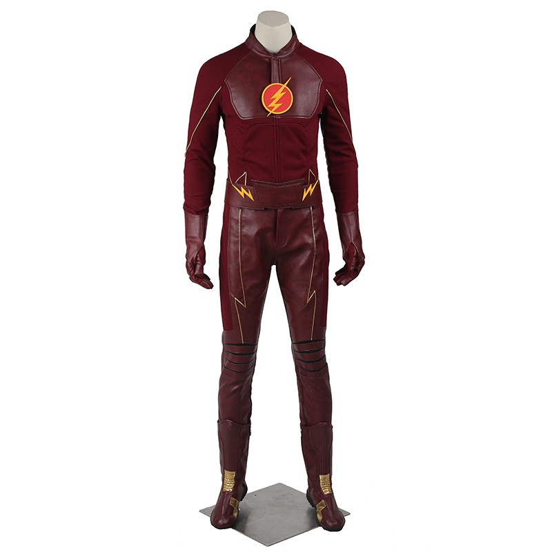 The Flash Season 1 Barry Allen Cosplay Costume