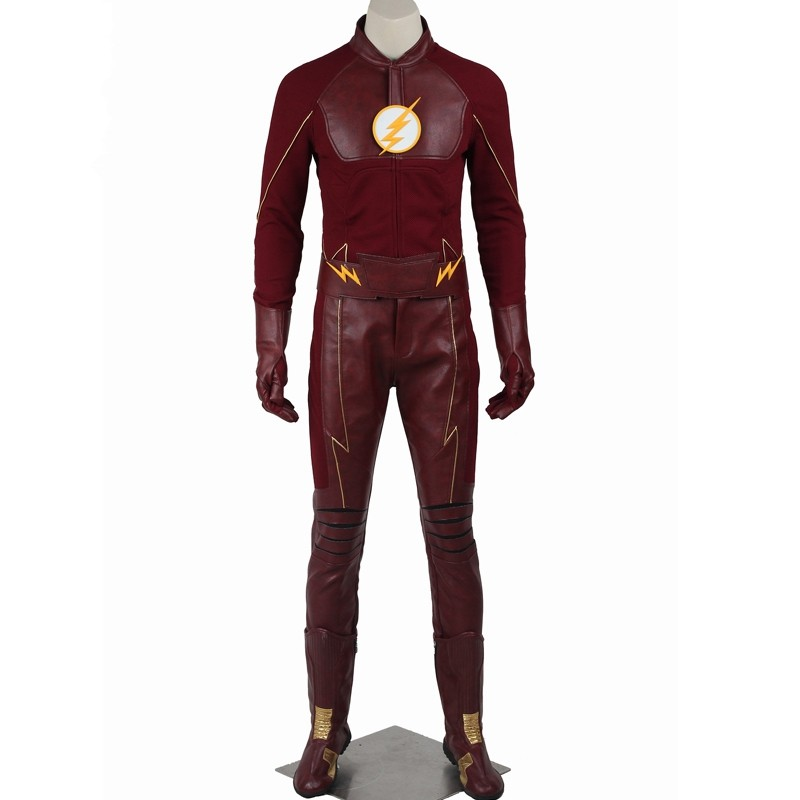 The Flash Season 2 Bartholomew Henry Barry Allen Cosplay Costume