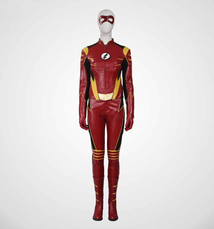 The Flash Season 3 Jesse Quick Cosplay Costumes