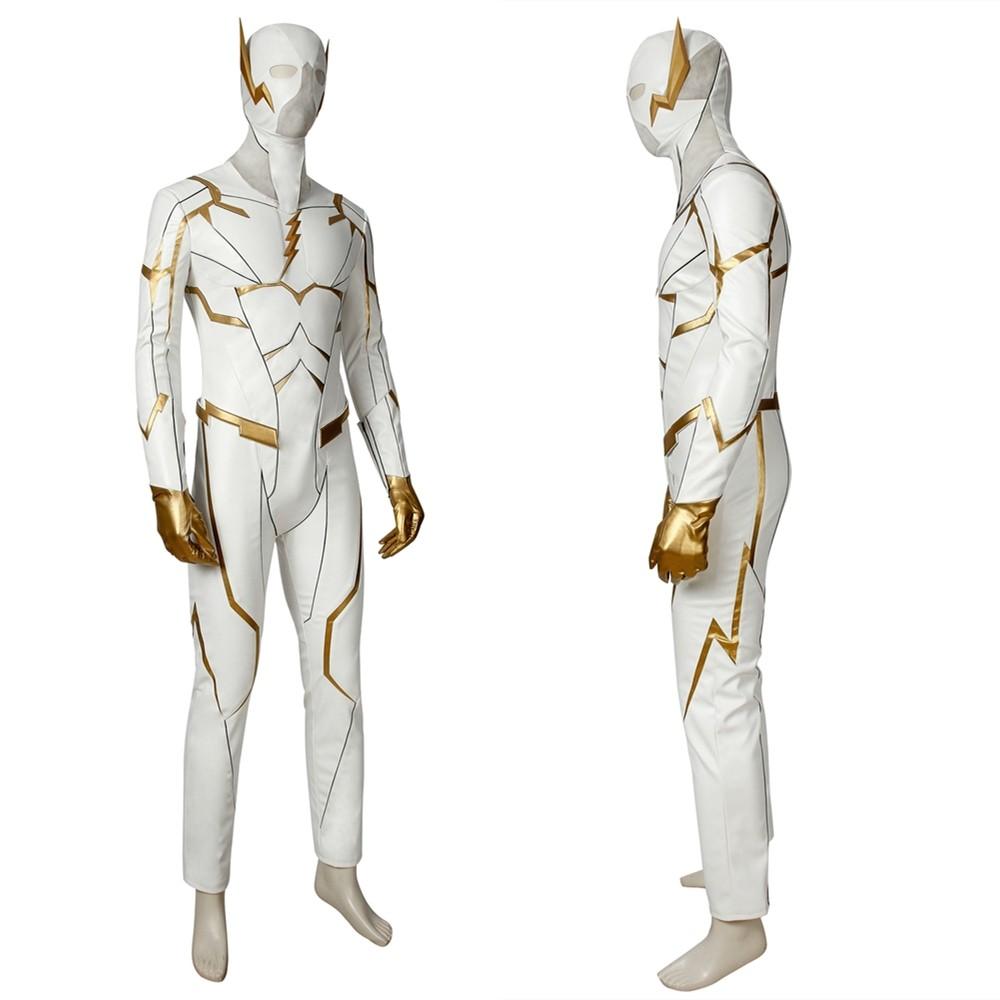 The Flash Season 5 Godspeed August Heart Cosplay Costume