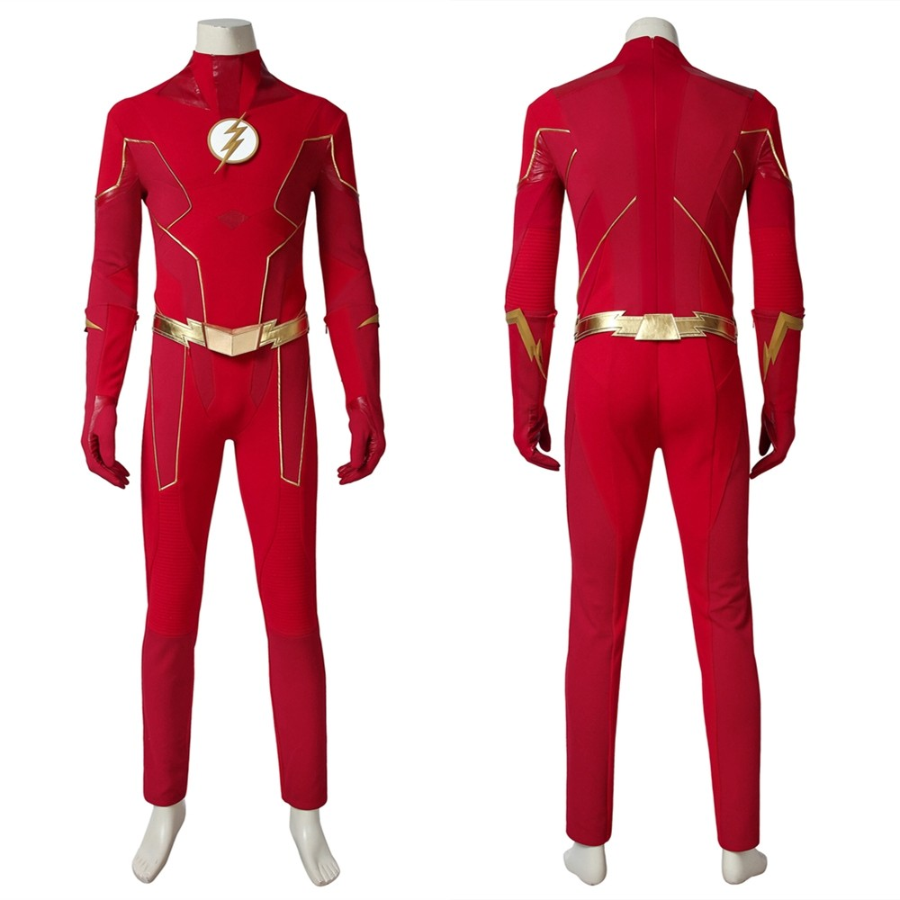 The Flash Season 6 Barry Allen Cosplay Costume