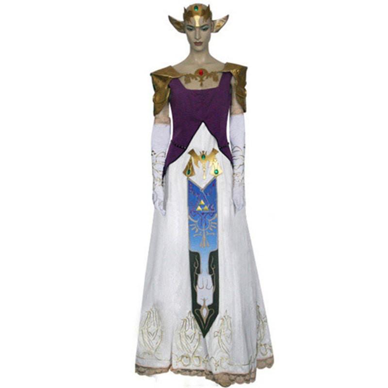 The Legend of Zelda Princess Zelda Dress Costume