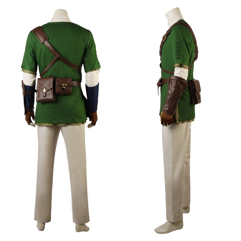 The Legend of Zelda: Twilight Princess Link Cosplay Costume