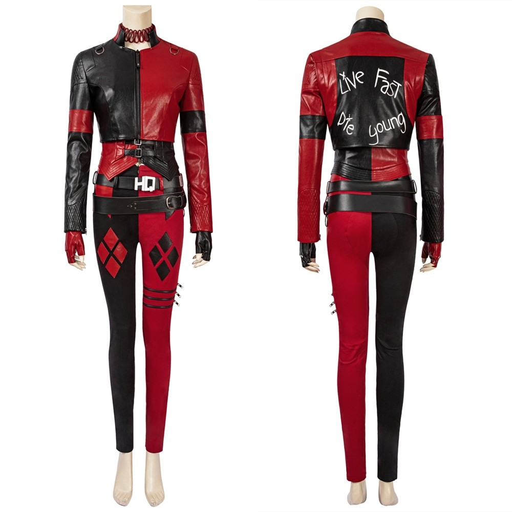 The Suicide Squad 2 Harley Quinn Cosplay Costume