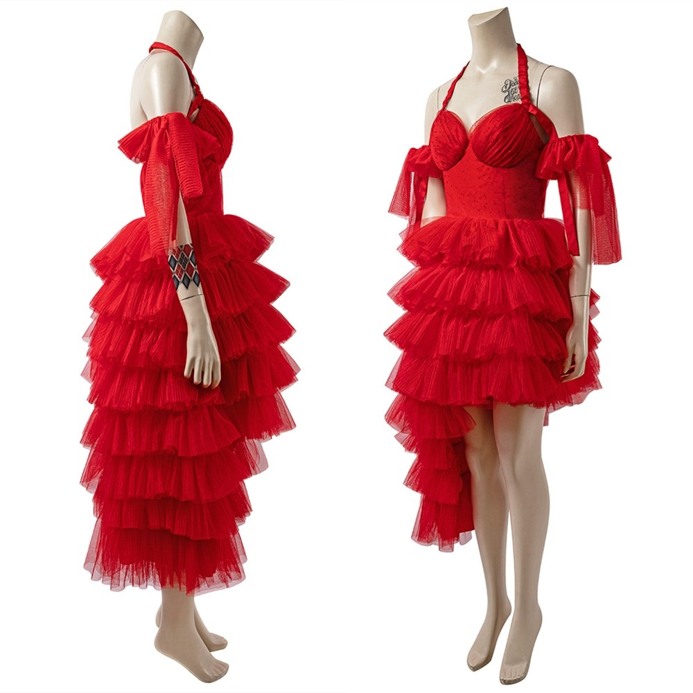 The Suicide Squad 2 Harley Quinn Cosplay Dress