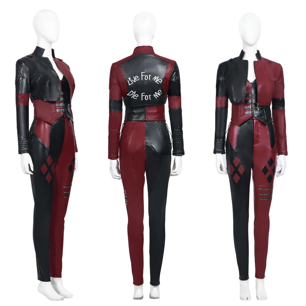 The Suicide Squad Harley Quinn Cosplay Costume Deluxe