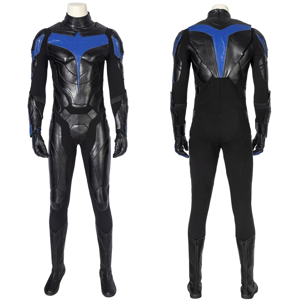 Titans Nightwing Dick Grayson Cosplay Costume