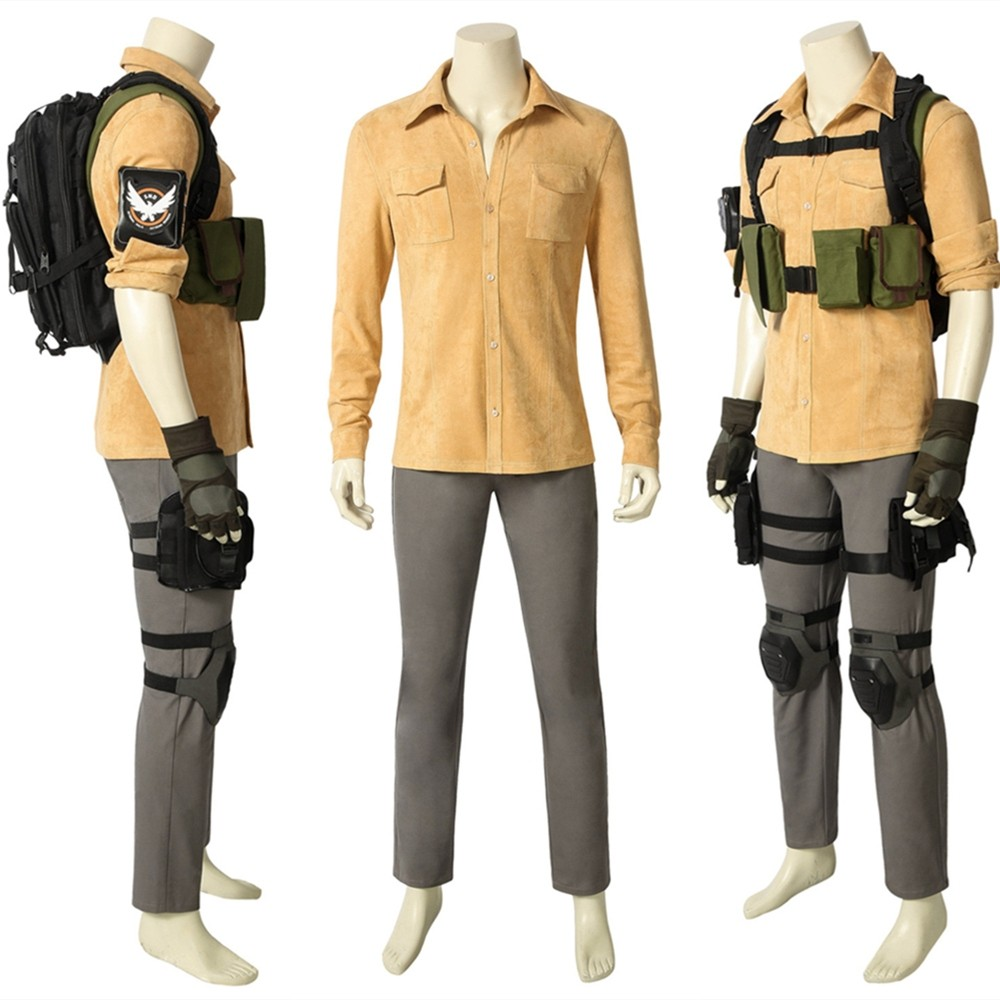 Tom Clancy's The Division Aaron Keener Cosplay Costume