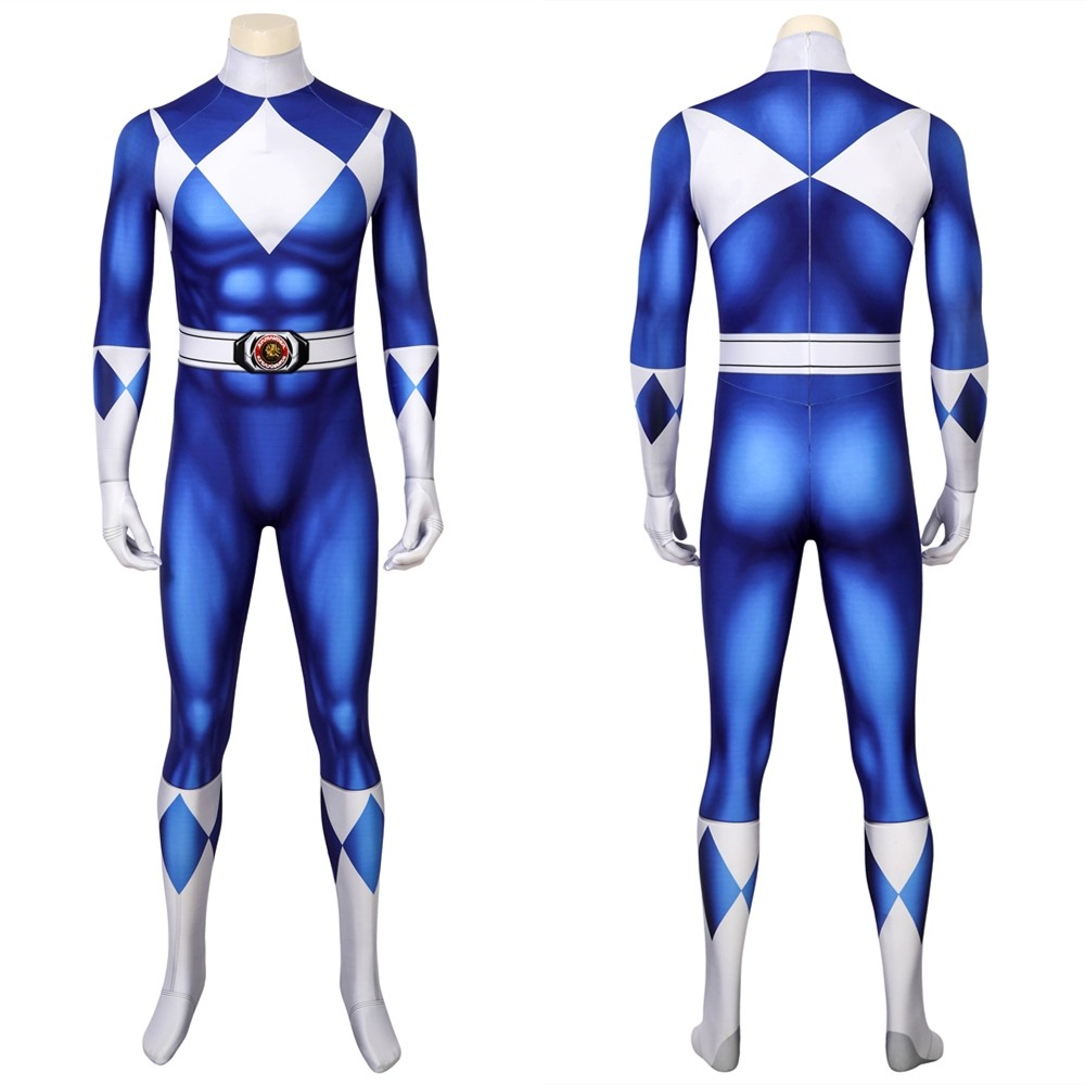 Tricera Ranger Dan Blue Power Rangers 3D Jumpsuit