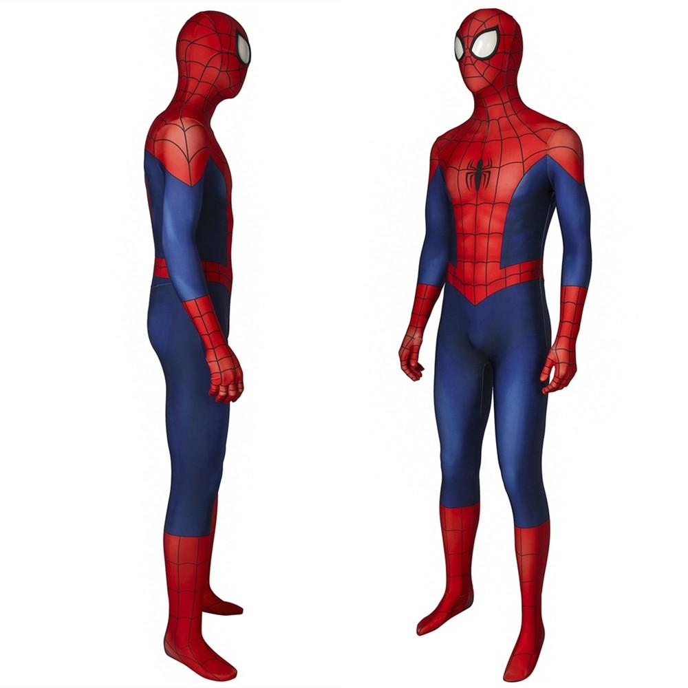 Ultimate Spider-Man Peter Parker 3D Jumpsuit Zentai