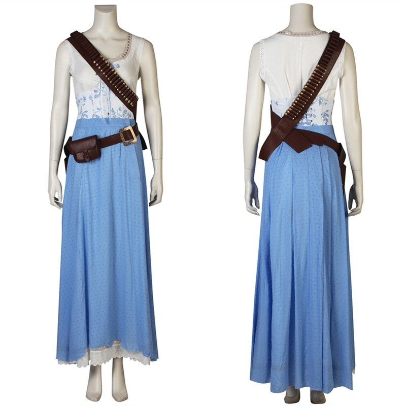 Westworld Season 2 Dolores Abernathy Cosplay Costume Skirt Dress