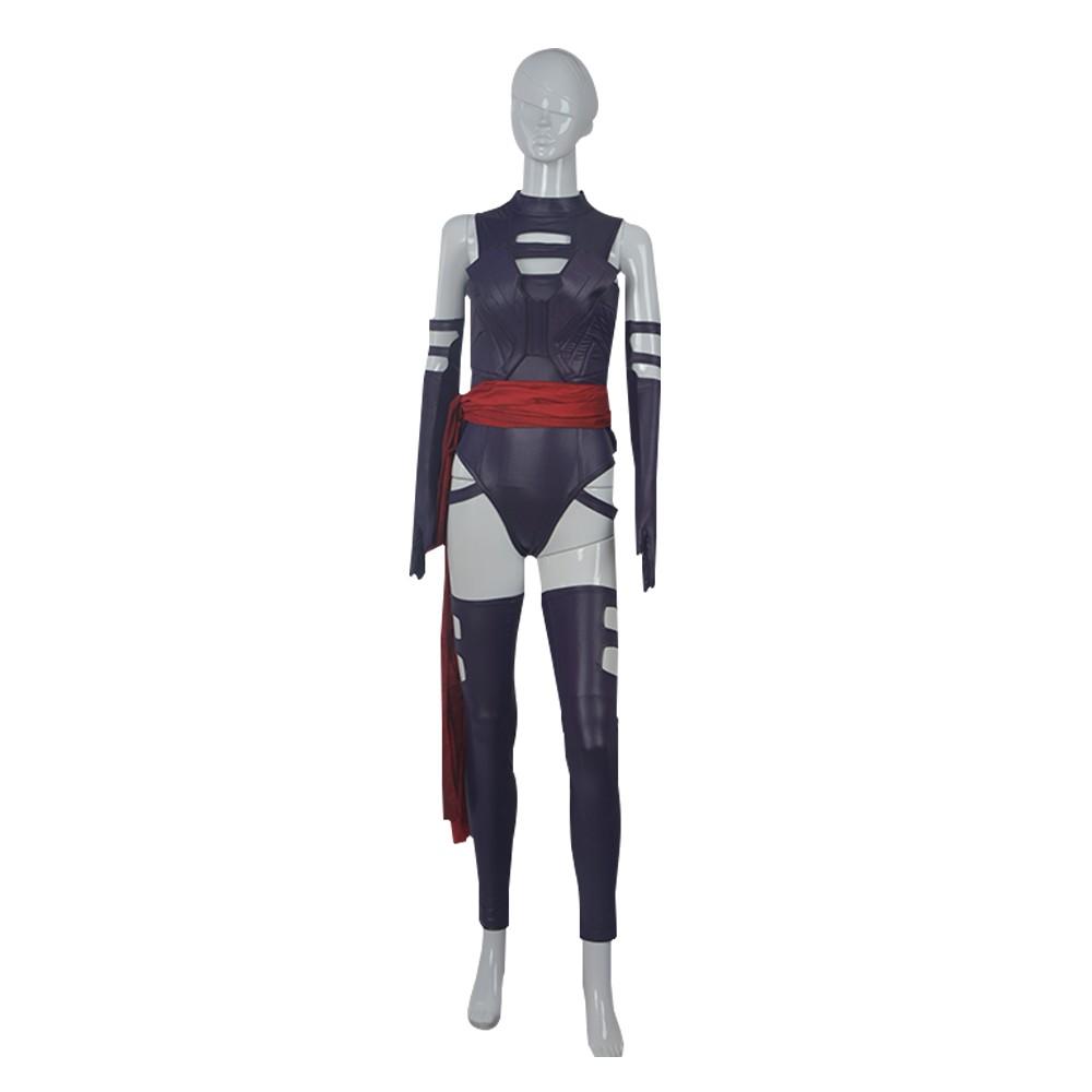 X-Men Apocalypse Psylocke Cosplay Costume - Deluxe Version
