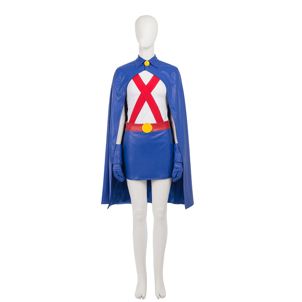 Young Justice Miss Martian Cosplay Costumes