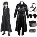 Sword Art Online Kirito Cosplay Costume Kirigaya Kazuto Cosplay Full Set