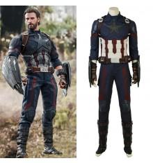 2018 Avengers Infinity War Captain America Cosplay Costumes